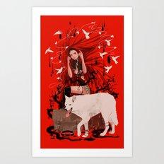 Jetlag Art Print