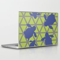 magic the gathering Laptop & iPad Skins featuring Gathering by Claire C