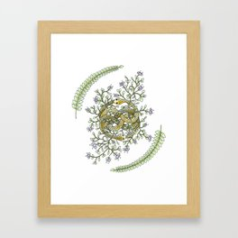 Neverending Story Inspired Auryn Garden Framed Art Print