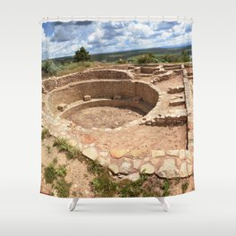 Dominguez-Escalante Ruins of the Anasazi, No. 3 of 7 Shower Curtain