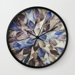 Constructed Pattern Wall Clock