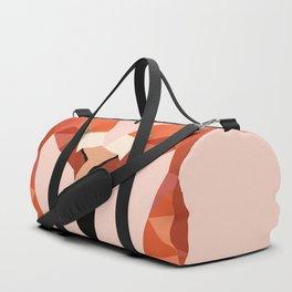 Flamingo Bird LOW POLY ART Duffle Bag