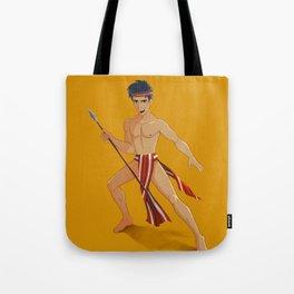 Igorot Warrior Tote Bag