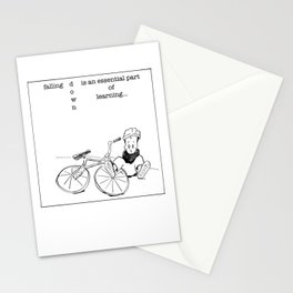 falling down is essential Stationery Cards