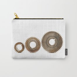 Vintage Industrial Gears, Steampunk - #2 , Minimalist Carry-All Pouch