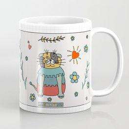 My Beautiful Slowly Cat Coffee Mug