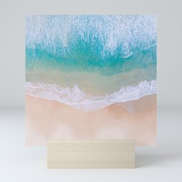 Sunshine and sandcastles Mini Art Print