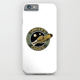 Spacers Choice iPhone Case