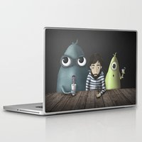 rare Laptop & iPad Skins featuring Three rare guys by Ainaragm