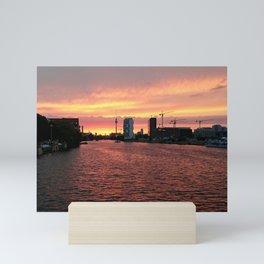 Spree Sunset I Mini Art Print