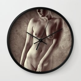 Art Nude Wall Clock