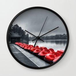 Boat Hire Wall Clock