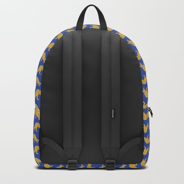 The New Animal Print - Blue Backpack