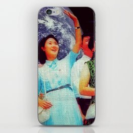 Our industrious people will win! iPhone Skin