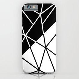 ART DECO (BLACK-WHITE) iPhone Case