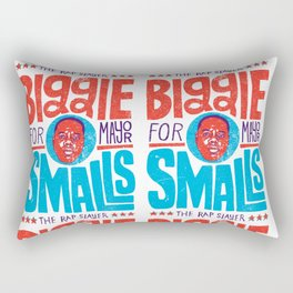 Biggie Smalls for Mayor Rectangular Pillow