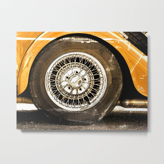 Guy, You Scratched My Car Metal Print