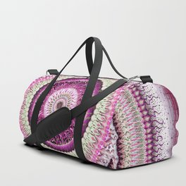 Pure Rose Mandala Duffle Bag