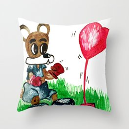 Love Fighter Throw Pillow