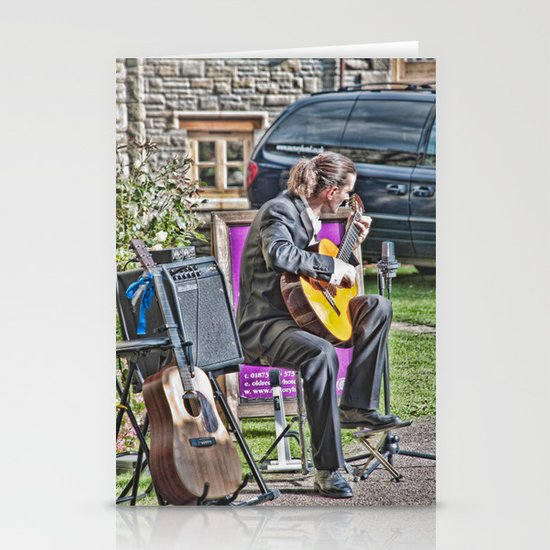While My Guitar Gently Weeps 2 Stationery Cards