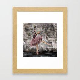 Freedom of art Framed Art Print