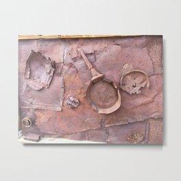 Industrial rust lust Metal Print