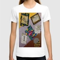 da vinci T-shirts featuring Tribute to Leonardo da Vinci by Art By Carob