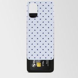 Blue Hearts Android Card Case