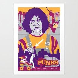 THE WARRIORS :: THE PUNKS Art Print