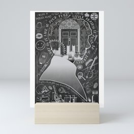 What is it Like in Your Funny Little Brains? Mini Art Print