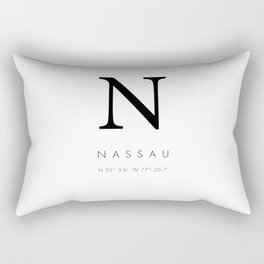 25North Nassau Rectangular Pillow