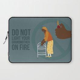 Grandma Fire Laptop Sleeve