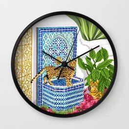Royal Cats Wall Clock
