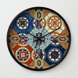 DESEO spanish tiles Wall Clock
