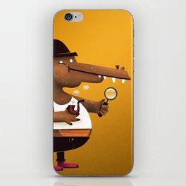 In Vest A Gator iPhone Skin