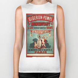Vintage poster - Biberon-Pompe Biker Tank