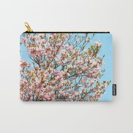 Vibrant Magnolias Carry-All Pouch
