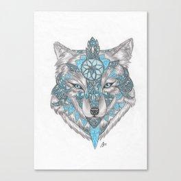 Spiritwolf Canvas Print