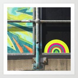 portals of hope skate park australia Art Print