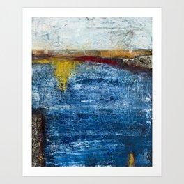 Homage to a ruler - Ocean Art Print