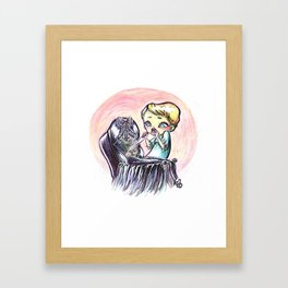 What Have You Done To It's Eyes? Framed Art Print