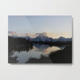 Mt. Moran Metal Print