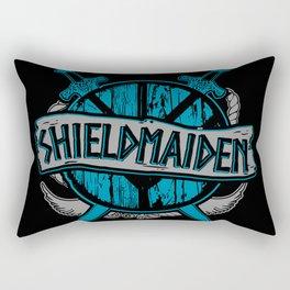 shieldmaiden #3 Rectangular Pillow