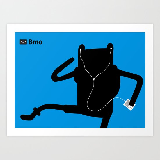 Bmo's Campaign x Finn. Art Print