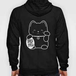Stay Lucky WHT Hoody