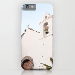 White Tropical Church Art Print | Canary Islands Tenerife Summer Photo | Spain Travel Photography iPhone Case