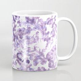 Abstract wave Purple Design Coffee Mug
