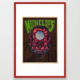 Moon Clops Framed Art Print