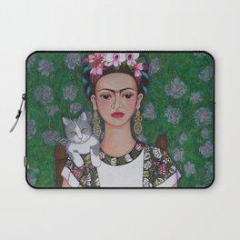 Frida cat lover Laptop Sleeve