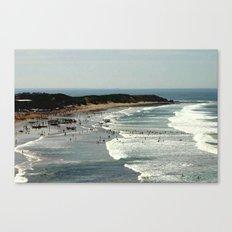 Torquay Heads - Rowing Regatta - Australia Canvas Print